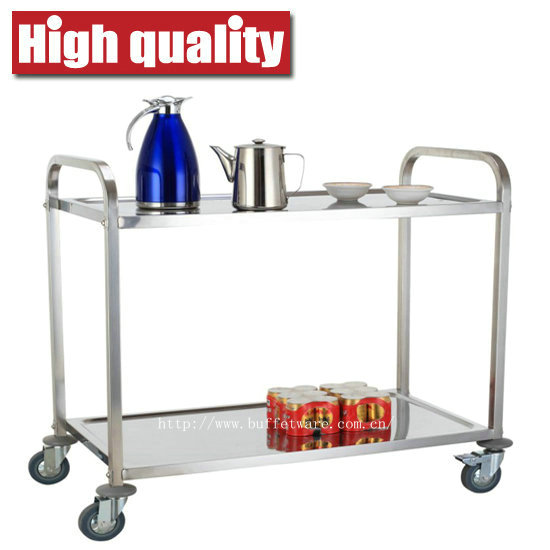 Square Tube 2 Tier Trolley