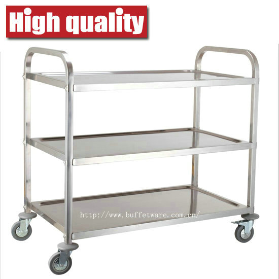 Square Tube 3 Tier Trolley