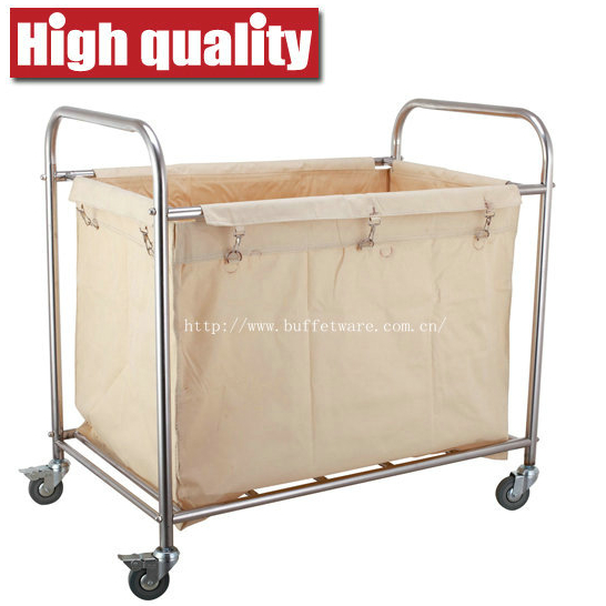 Square Shape Linen Trolley
