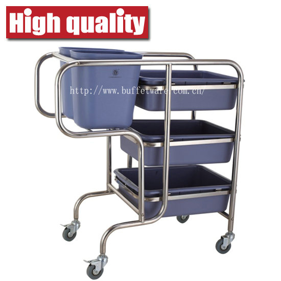 Trolley with 5 Bucket
