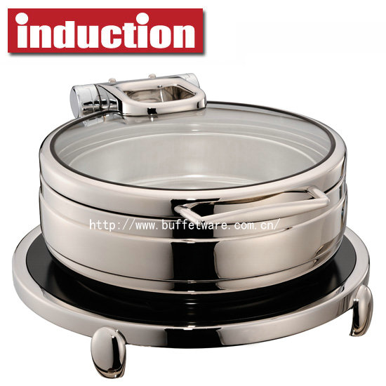 6.0L Round Induction Chafing Dish