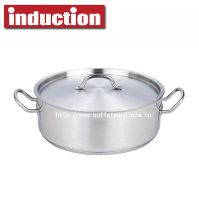Classical Commercial Stainless Steel Stew Pan
