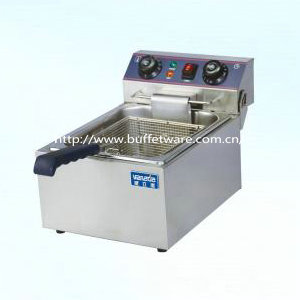 Stainless steel Single Cylinder Electric Fryer