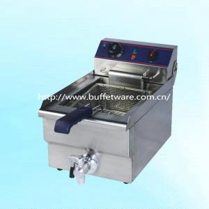 Commercial Single Cylinder Electric Fryer WithTap