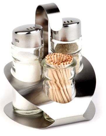 4 pcs condiment set