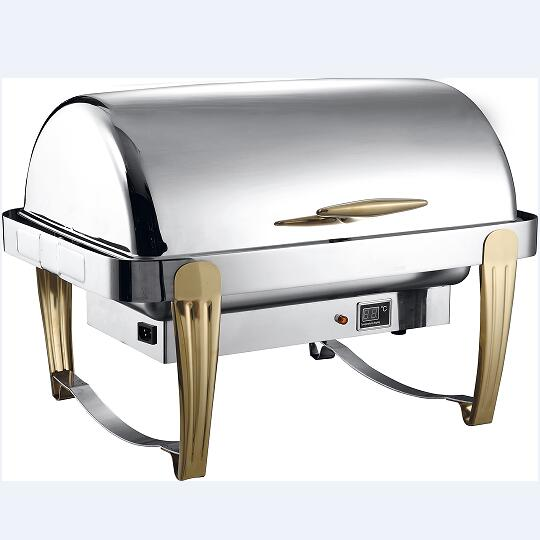 9L roll top chafing dish