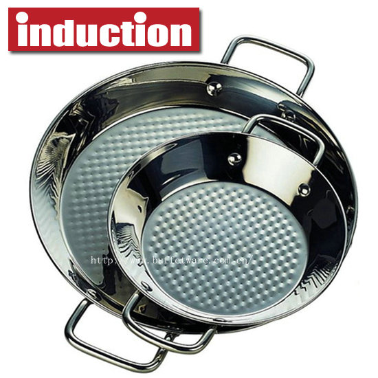 Commercial Stainless Steel Paela Pan