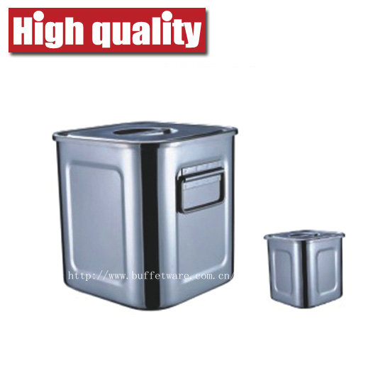 Commercial Stainless Steel Square Box