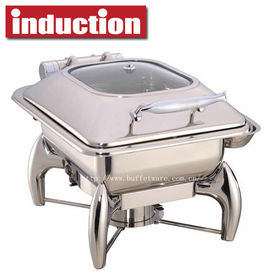 5.5L Square Induction Chafing Dish
